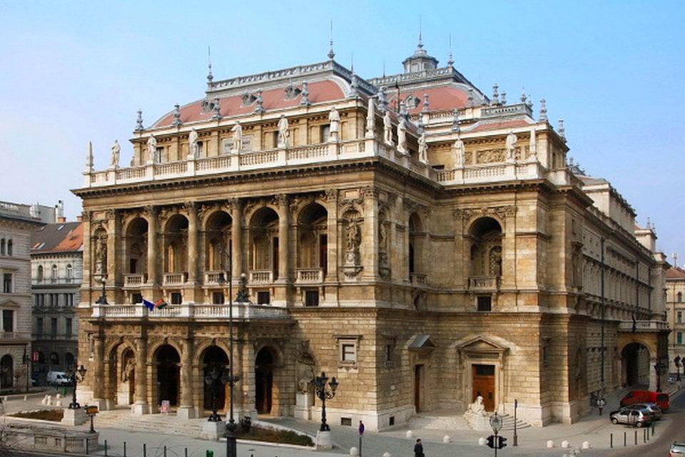 ハンガリー国立歌劇場、ブダペス...